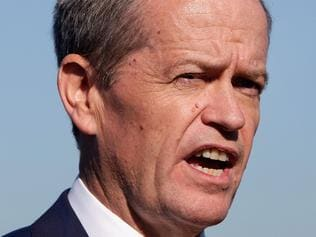 Bill Shorten Campaigns On Medicare And Infrastructure In Sydney