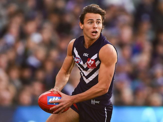 Modelling jobs will be a dime a dozen for this youngster if his AFL career doesn't work out. Unfortunately for the rest of the world, it looks like it will.