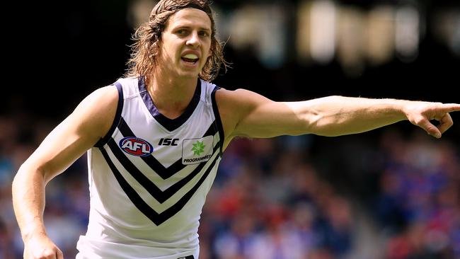 Nat Fyfe is a free agent at the end of the 2017 season. Picture: Wayne Ludbey