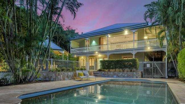 The sale of 192 Heal St, New Farm, broke a record for the street when it sold under the hammer for $3.1 million.