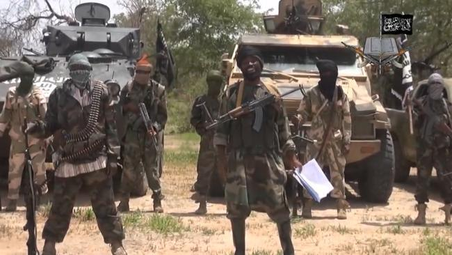 A screengrab taken on July 13, 2014 from a video released by the Nigerian Islamist extremist group Boko Haram. Photo: AFP.