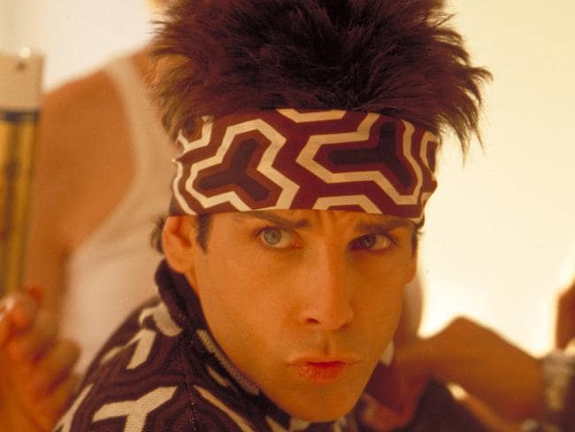 Blue Steel ... Ben Stiller in a scene from Zoolander. Picture: Supplied.