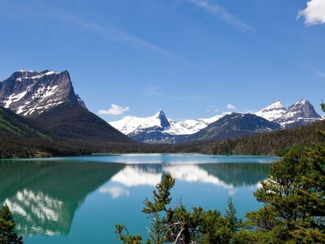 Saint Mary's Lake and Wild Goose Island in Glacier National Park, pictured in 2012.