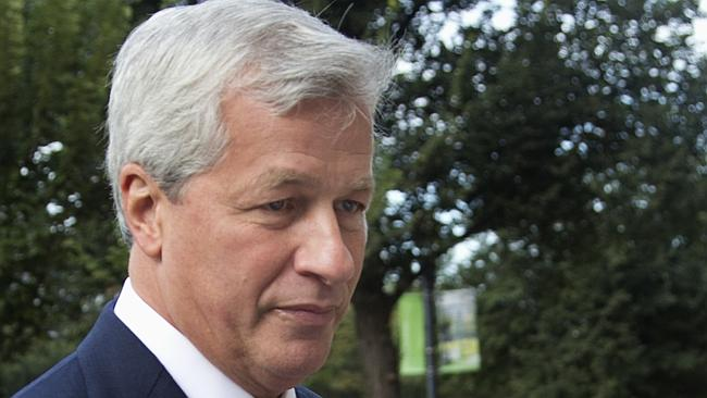 Top man... JPMorgan Chase Chairman, President and CEO Jamie Dimon will oversee the cuts. Picture: Manuel Balce Ceneta/AP