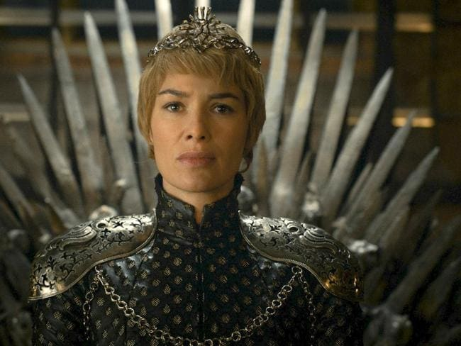 "High stakes ... Lena Headey in a scene from ""Game of Thrones"". Picture: Time Warner / HBO"