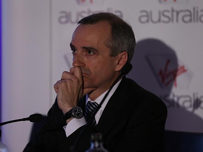 Virgin Australia chief executive John Borghetti organised $350 million in capital raising