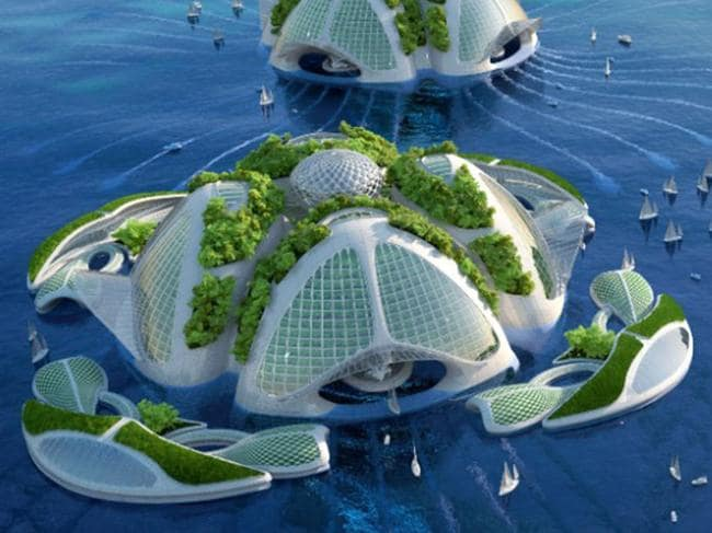 Fancy life in an underwater skyscraper?