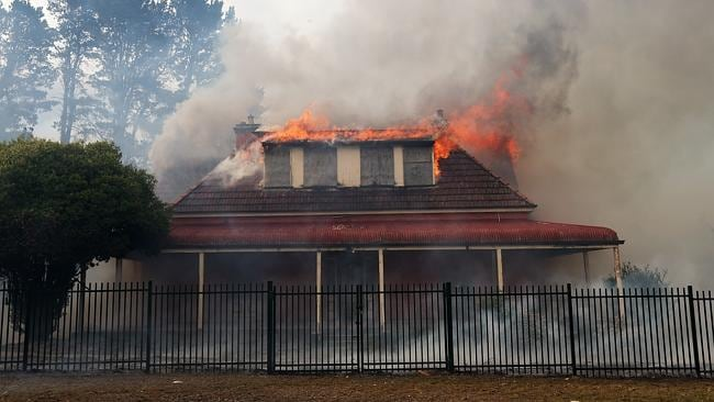 A property at the rear of St Thomas Aquinas Primary School, just off Hawkesbury Rd.