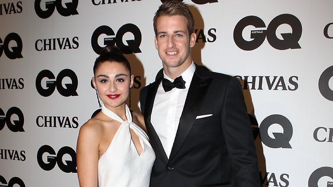 James Magnussen has split with Andrea Patrulescu. Picture: Richard Dobson