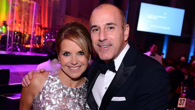 Katie Couric (L) and Matt Lauer. Picture: Getty
