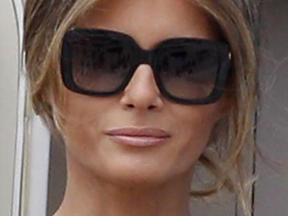 Melania isn't even pretending anymore