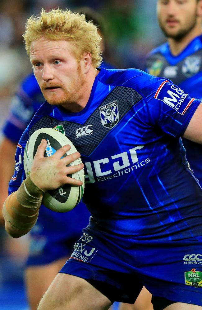 Opposition teams are becoming increasingly aware of James Graham's influence on the Bulldogs.