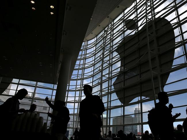 Attendees gather at the Apple Worldwide Developers Conference in California.