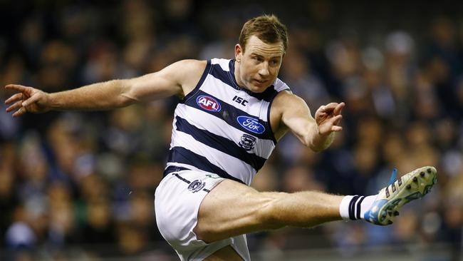Steve Johnson returns for Geelong. Picture: Michael Klein