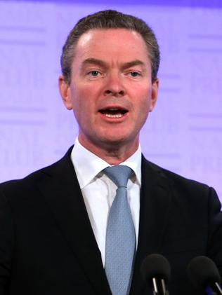 Tough times ahead ... Education Minister Christopher Pyne.