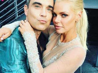 "The 2016 ARIA Awards via social media ... Sophie Monk, ""The #Arias are the best when you can catch up with your awesome friends. Robbie Williams is an absolute legend."" Picture: Instagram"