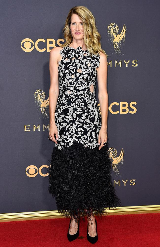 Laura Dern attends the 69th Annual Primetime Emmy Awards at Microsoft Theater on September 17, 2017 in Los Angeles. Picture: Getty