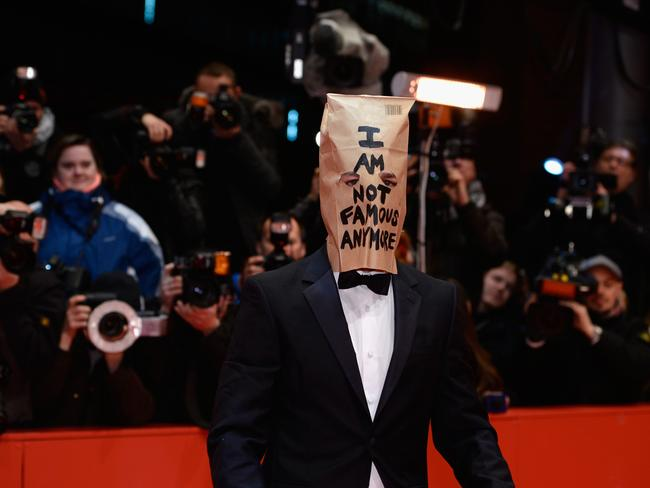Infamous ... Shia LaBeouf attends the 'Nymphomaniac Volume I (long version)' premiere at the 64th Berlinale International Film Festival. Picture: Clemens Bilan