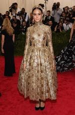 """Aussie model Courtney Eaton attends the Met Gala 2015 """"China: Through The Looking Glass"""". Picture: Getty"""