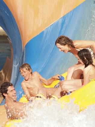WHAT A RIDE: The Tornado attraction at Wet'n'Wild Gold Coast.