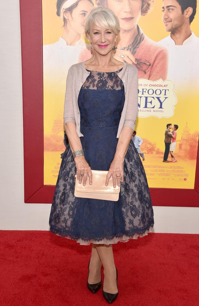 The actress attends the New York premiere of her movie. Picture: Getty