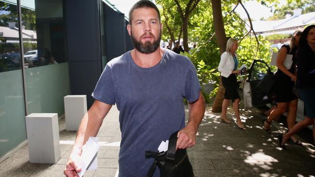 The Eagles failed former superstar Ben Cousins, according to a new report. Picture: Richard Wainwright