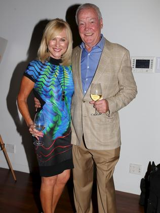 Kerri-Anne and John Kennerley, before his accident. Picture: News Corp.