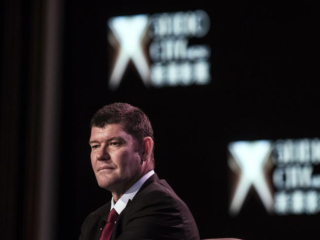 Crown director James Packer. Picture: Bloomberg