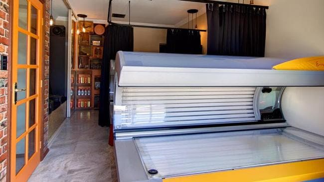 An alleged illegal solarium owner faces fine under new laws banning commercial tanning services. The State Government introduced the laws on January 1 last year. Picture: Facebook.