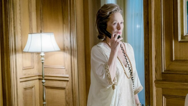 Meryl Streep turns in a showstopping performance in 'The Post'. Photo: EOne