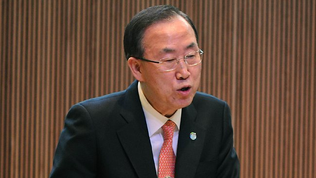 United Nations Secretary-General Ban Ki-Moon has said that tensions had already soared too high on the Korean peninsula and warned Pyongyang against making nuclear threats.