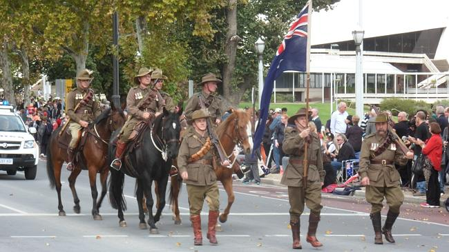 The Barossa Light Horse Re-Enactment Group will play a key role in Anzac centenary parades in Adelaide this year.