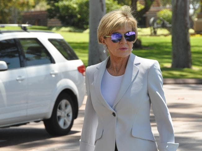 Acting Prime Minister Julie Bishop says the government will carry on as normal despite its latest citizenship woes. Picture: AAP