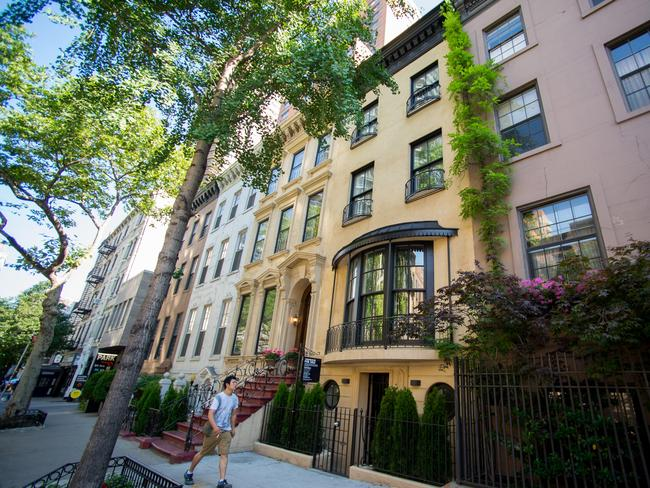 A townhouse in New York City, most likely with an eyewatering price tag.