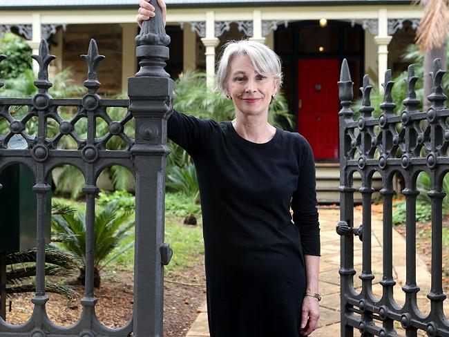 The pretensions about Anne Moran largely stop at the front gate of her home. Picture Dean