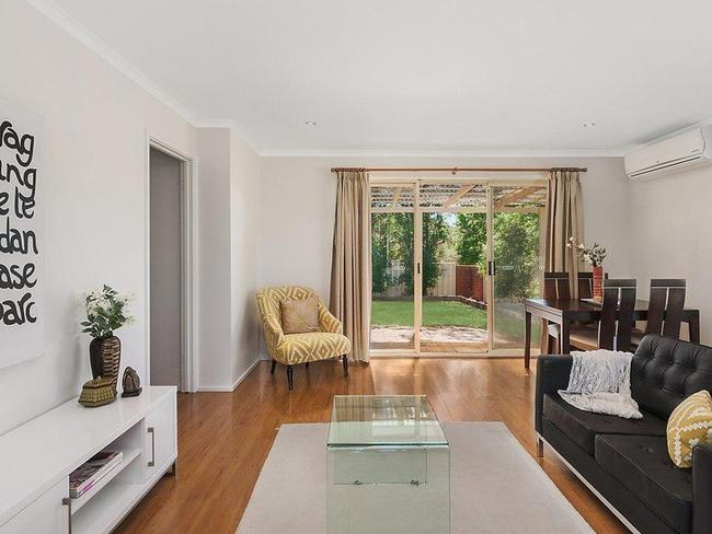 A townhouse with a garden asking more than $365,000. Picture: realestate.com.au