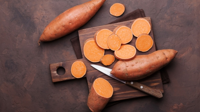Sweet potato is a staple of the Okinawa diet