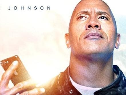Apple hired Dwayne 'The Rock' Johnson to appear in a miniature movie starring its virtual assistant, Siri.