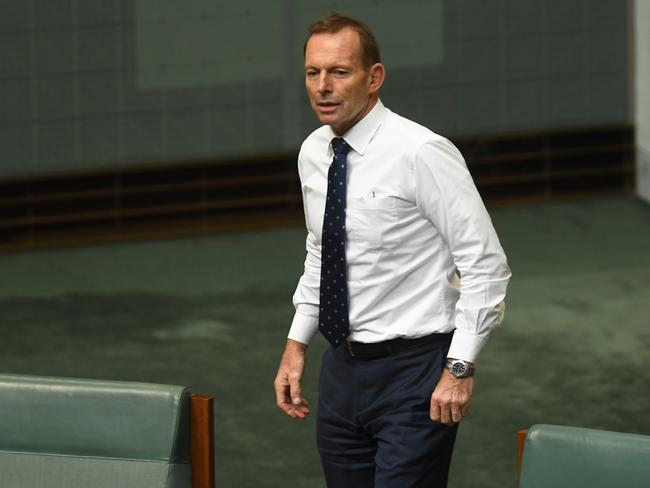 Voters tempted to move towards right-wing minor parties needed to be reminded that the Coalition still valued them, Tony Abbott said. Picture: AAP
