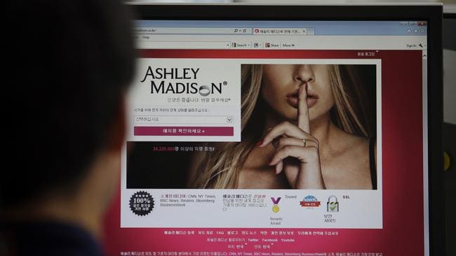 The shame of being found to have cheated using Ashley Madison is going to have far reaching consequences. Picture: Lee Jin-man / AP