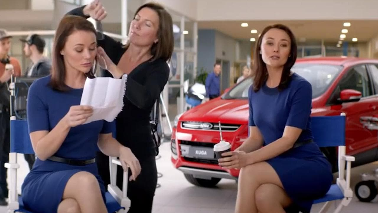 Ngaire dawn fair stars in a ford commercial