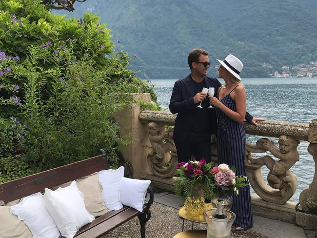 My Proposal Co helped organise the beautiful moment Aussie man Ben proposed to his partner Kelly in Lake Como, Italy.