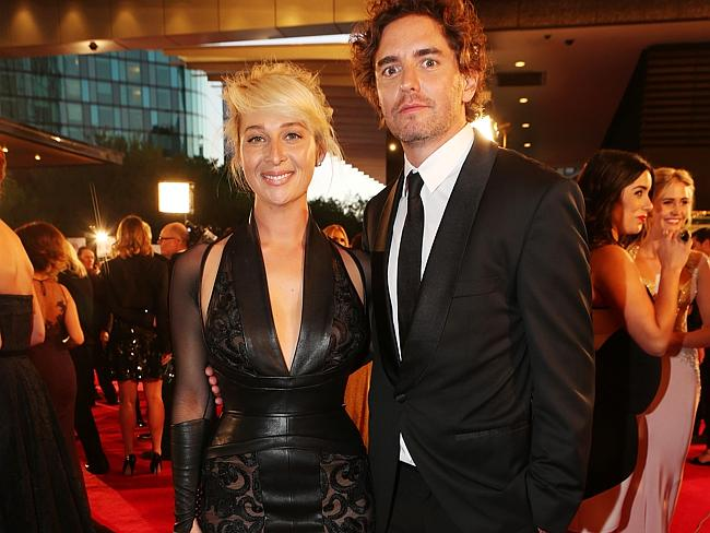 Asher Keddie and Vincent Fantauzzo. Picture: Julie Kiriacoudis