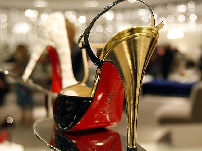 The famous red-soled Louboutins.