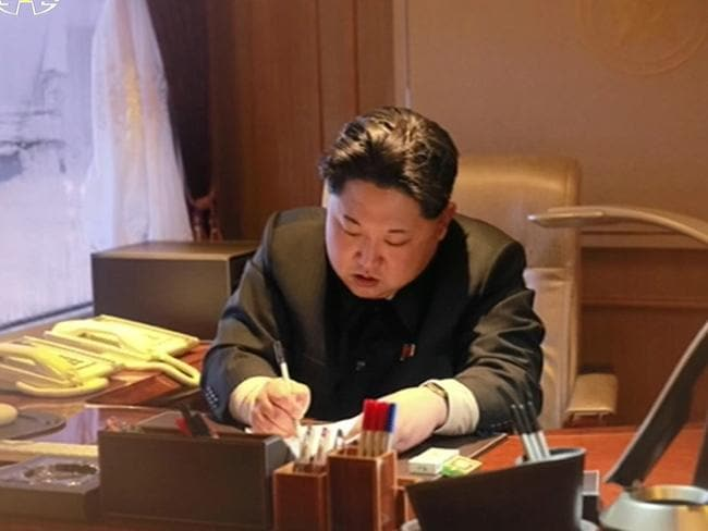 Kim Jong-un signs an order the previous day to launch the Kwangmyongsong-4 satellite. North Korea said in a special broadcast it has succeeded in placing the satellite into orbit. The rocket launch is widely viewed as a disguised ballistic missile test.
