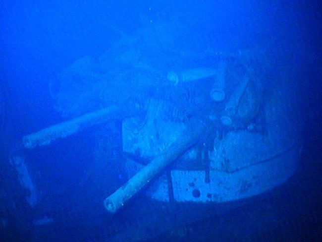 Lost for 66 years, WWII light cruiser HMAS Sydney was found in 67 hours by marine scientist and oceanographer David Mearns in 2008. Picture: The Finding Sydney Foundation