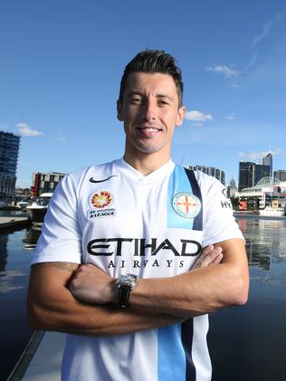 New Melbourne City marquee import Robert Koren.
