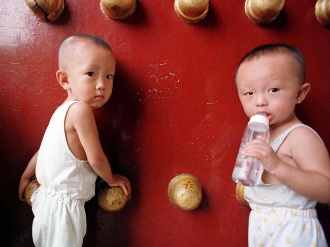 China's one-child policy raised concerns about a gender imbalance with reports emerging of girls being abandoned at orphanages.