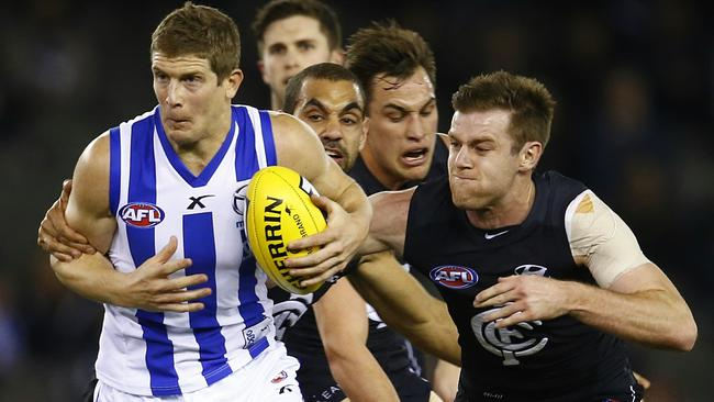 Nick Dal Santo has been one of the recruits of the season. Picture: Michael Klein