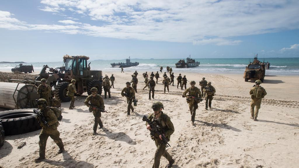 Shoalwater Bay was the scene of Exercise Talisman Sabre in July. Three US marines tragically died in an accident following the exercise.